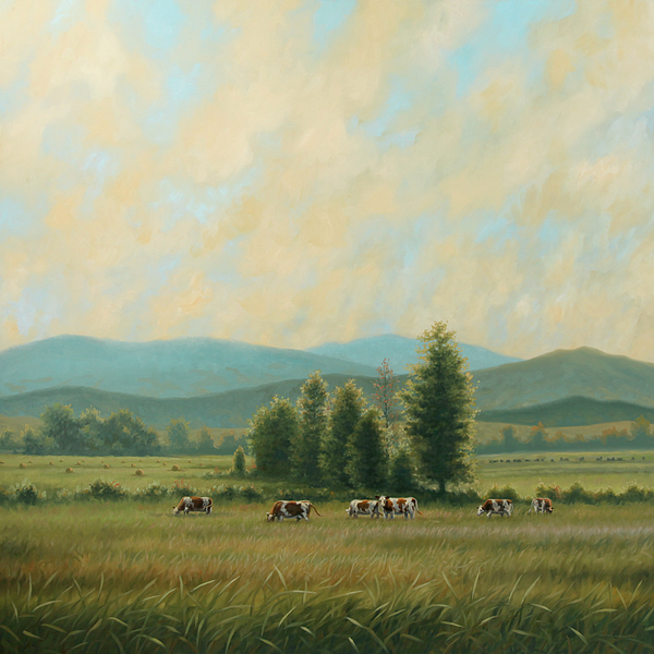 Sweet Virginia Breeze Painting by Guy Crittenden
