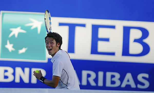 Tennis : ATP World Tour 250 Antalya Tournament Photograph by Anadolu Agency