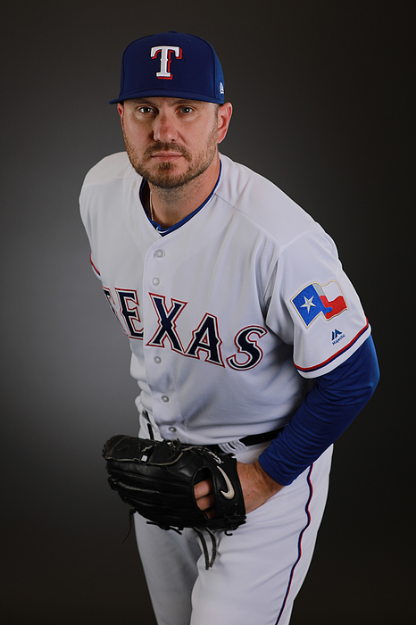 Texas Rangers Photo Day Photograph by Gregory Shamus