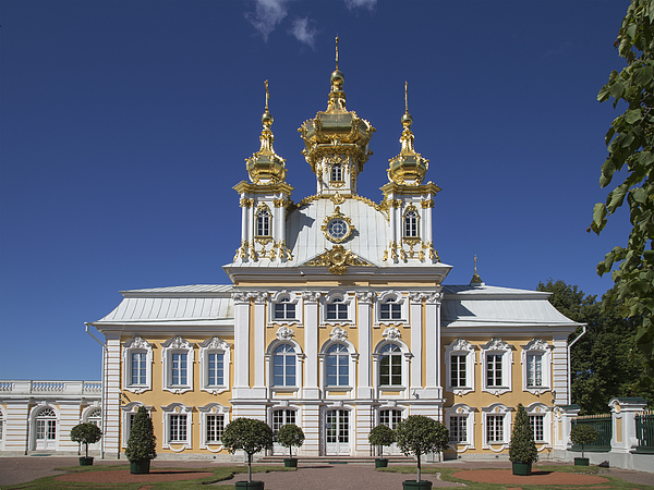 The Czar summer palace in St Petersburg Photograph by Buena Vista Images