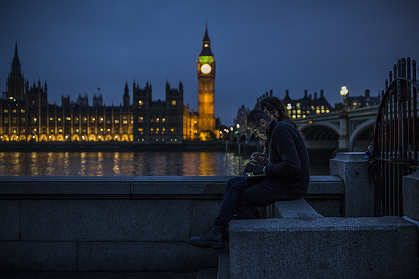 The House Of Lords Due To Vote On A Motion That Could Derail Tax Credit Cuts Photograph by Dan Kitwood