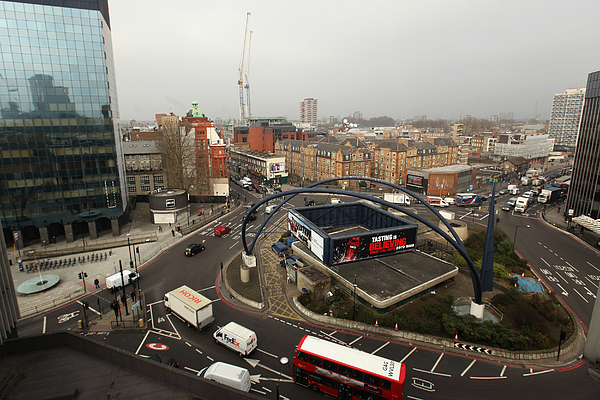 The Silicon Roundabout In Old Street Photograph by Oli Scarff