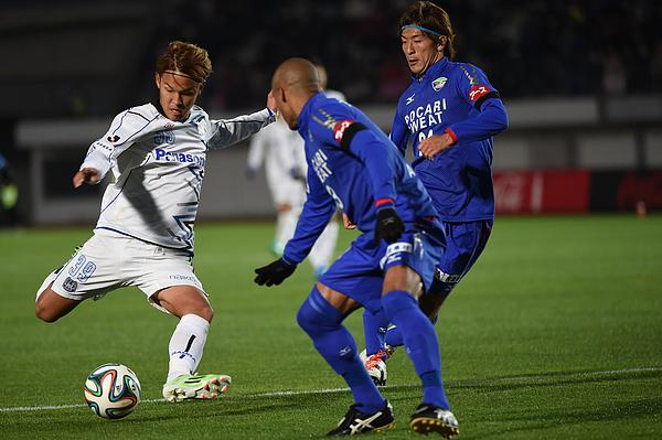 Tokushima Vortis v Gamba Osaka - J.League 2014 Photograph by Kaz Photography