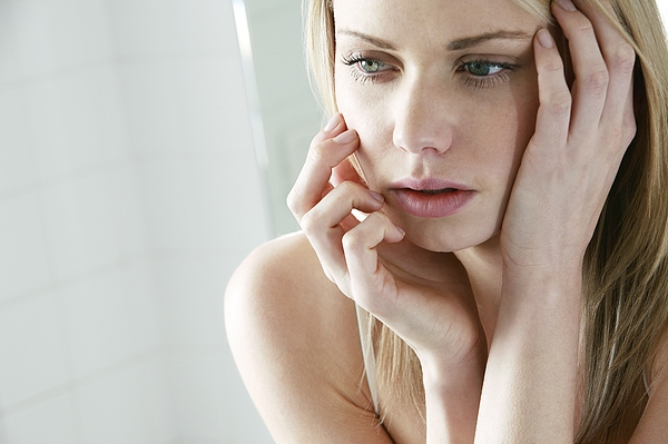 Upset young woman Photograph by Mauro Fermariello