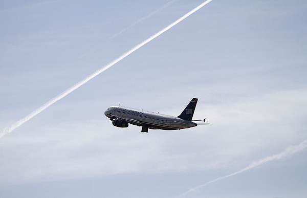 US Airways Rumored To Be Pushing For American Airlines Merger Photograph by Joshua Lott
