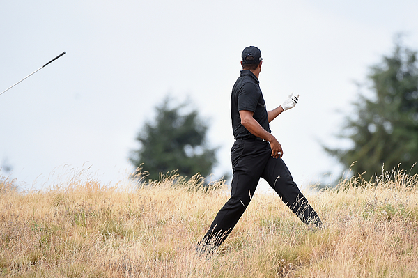 U.S. Open - Round One Photograph by Harry How