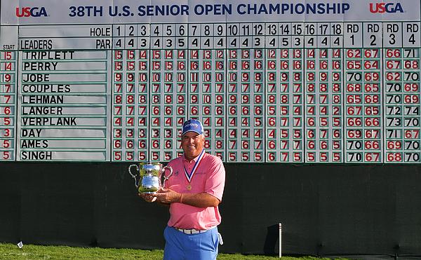 U.S. Senior Open Championship - Final Round Photograph by Drew Hallowell