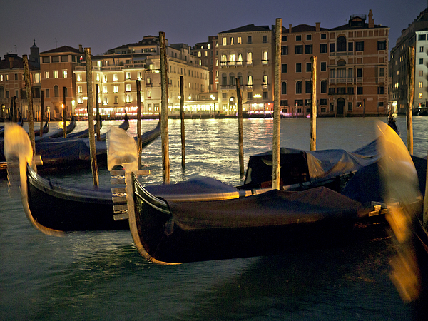 Venice Nights Photograph by Bernd Schunack