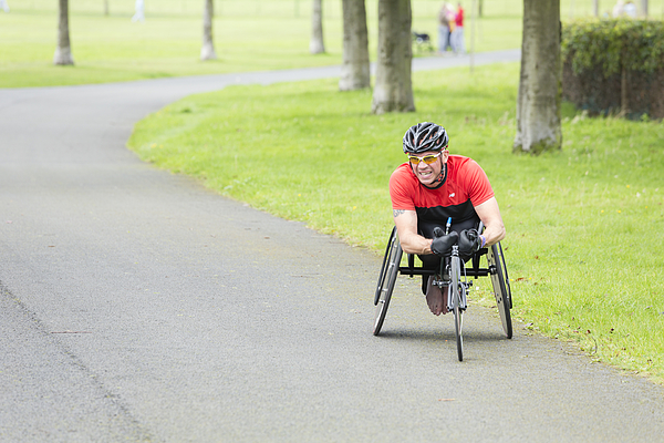 Wheelchair Athlete Photograph by Theasis