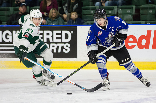 WHL: JAN 07 Victoria Royals at Everett Silvertips Photograph by Icon Sportswire