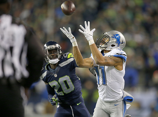 Wild Card Round - Detroit Lions v Seattle Seahawks Photograph by Otto Greule Jr