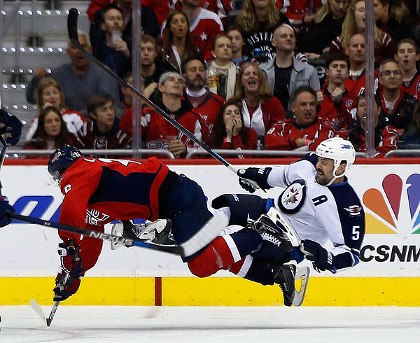Winnipeg Jets v Washington Capitals Photograph by Rob Carr