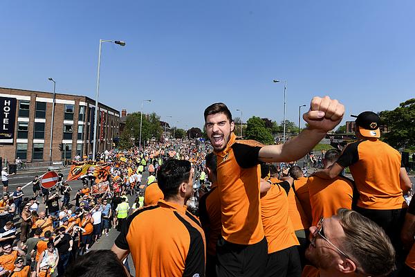 Wolverhampton Wanderers Sky Bet Championship Winners Parade Photograph by Sam Bagnall - AMA