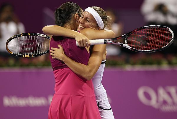 WTA Championships - Doha 2010 - Day Six Photograph by Bryn Lennon