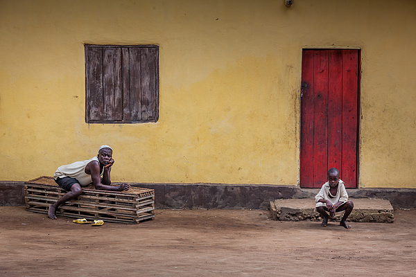 Yongoro, Sierra Leone, West Africa Photograph by I just try to tell my emotions and take you around the world