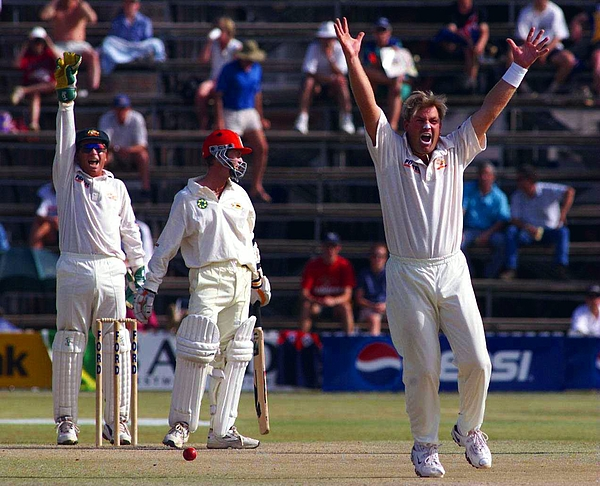 Zimbabwe v Aust Photograph by Hamish Blair
