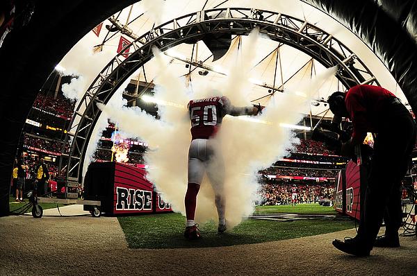 New Orleans Saints v Atlanta Falcons Photograph by Scott Cunningham