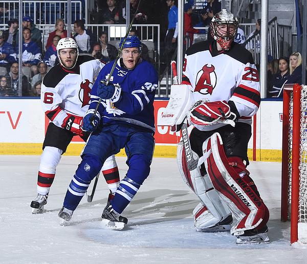Albany Devils V Toronto Marlies Photograph by Graig Abel