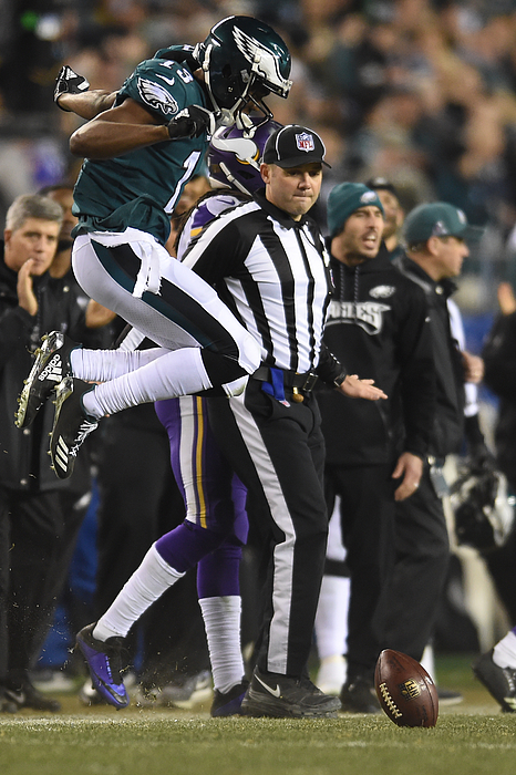 NFL: JAN 21 NFC Championship Game - Vikings at Eagles Photograph by Icon Sportswire