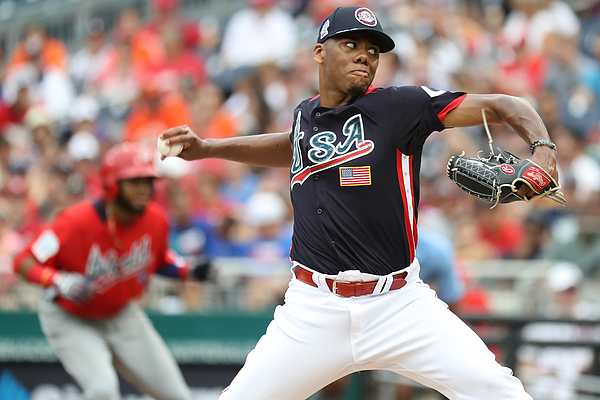 SiriusXM All-Star Futures Game Photograph by Rob Carr