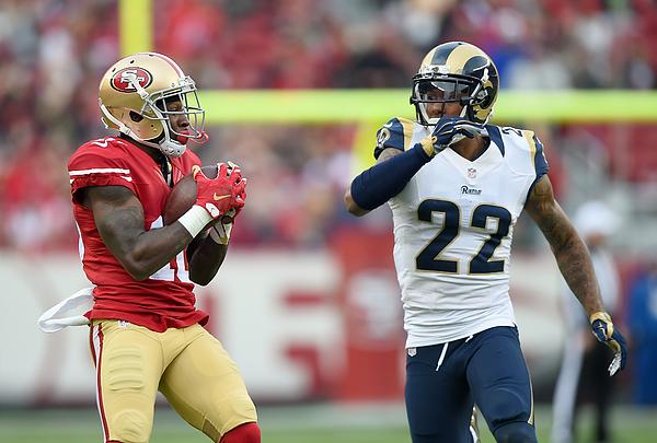 St Louis Rams v San Francisco 49ers Photograph by Thearon W. Henderson