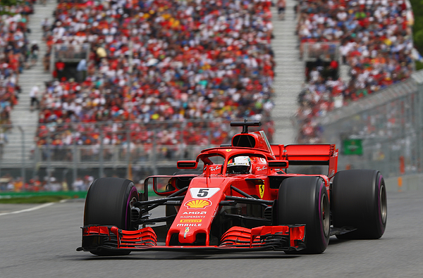 Canadian F1 Grand Prix Photograph by Mark Thompson