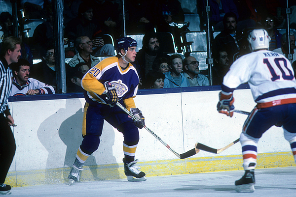 Los Angeles Kings v New York Islanders Photograph by B Bennett