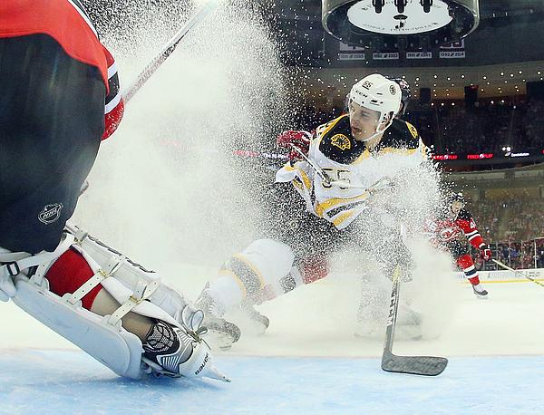 Boston Bruins v New Jersey Devils Photograph by Bruce Bennett