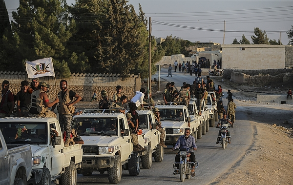 Operation Euphrates Shield against Daesh Photograph by Anadolu Agency