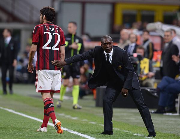 AC Milan v US Sassuolo Calcio - Serie A Photograph by Claudio Villa