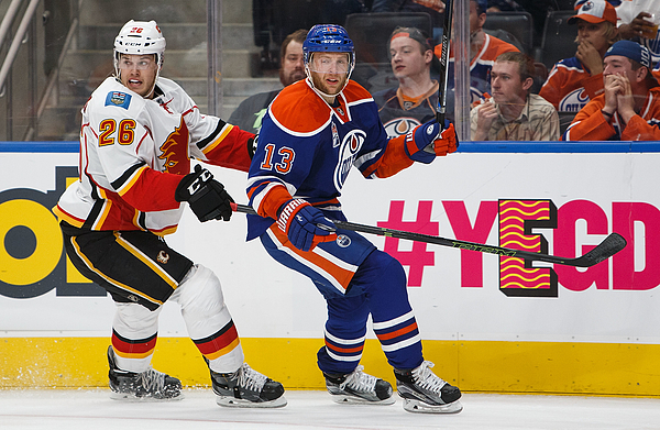 Calgary Flames v Edmonton Oilers Photograph by Codie McLachlan