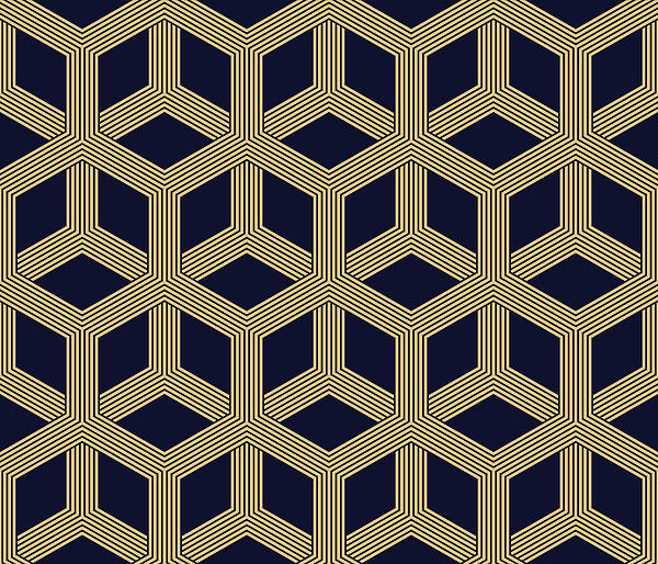 Seamless Geometric Pattern Drawing by Lasagnaforone