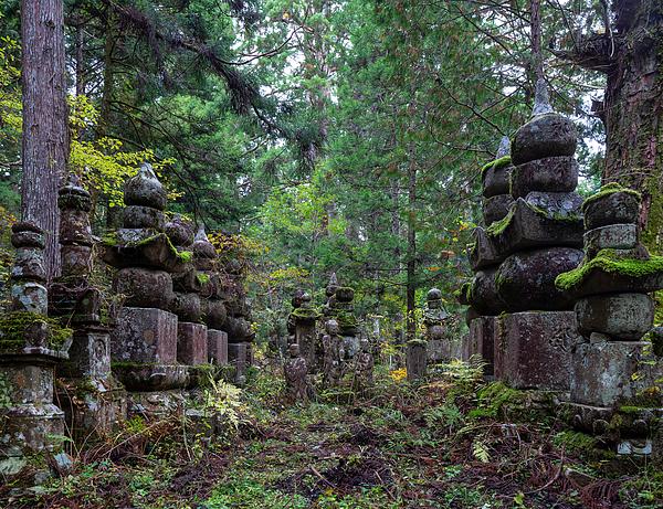 Okunoin Cemetery in Koyasan Photograph by Christian Beirle González