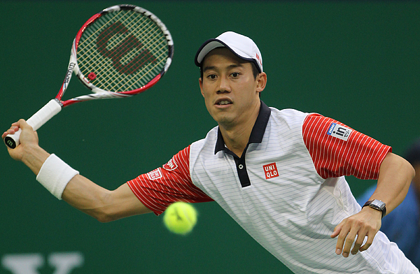 2014 Shanghai Rolex Masters 1000 - Day 4 Photograph by Zhong Zhi