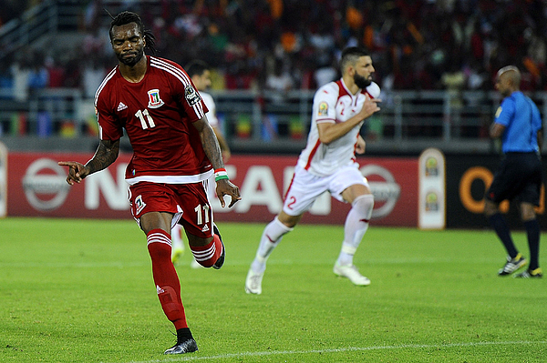 2015 Africa Cup of Nations - Equatorial Guinea vs Tunisia Photograph by Anadolu Agency