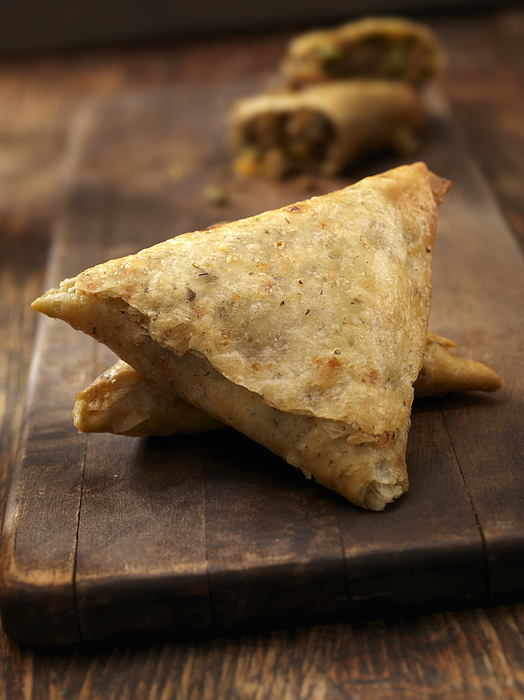 Beef  Samosa Photograph by LauriPatterson