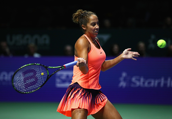 BNP Paribas WTA Finals: Singapore 2016 - Day Five Photograph by Clive Brunskill