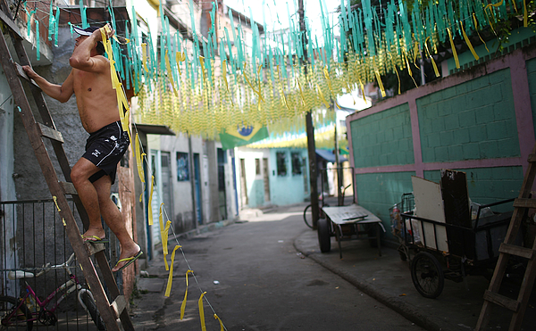 Brazil Prepares For World Cup Photograph by Mario Tama