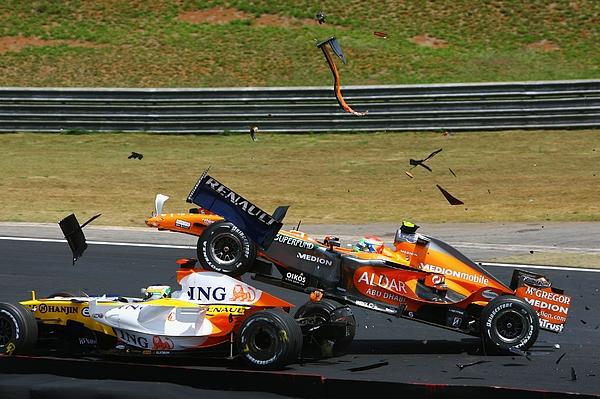 Brazilian Formula One Grand Prix: Race Photograph by Paul Gilham