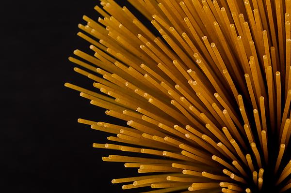 Bunch of raw italian pasta Photograph by R.Tsubin