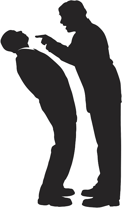 Businessperson Silhouette Drawing by VectorSilhouettes