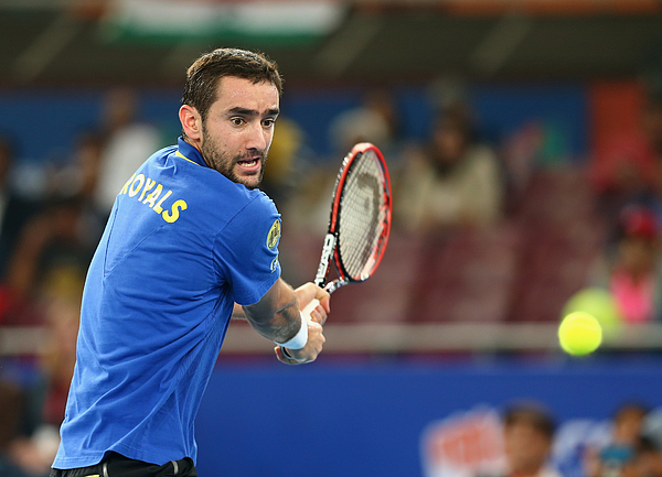 Coca-cola International Premier Tennis League - India: Day One Photograph by Clive Brunskill