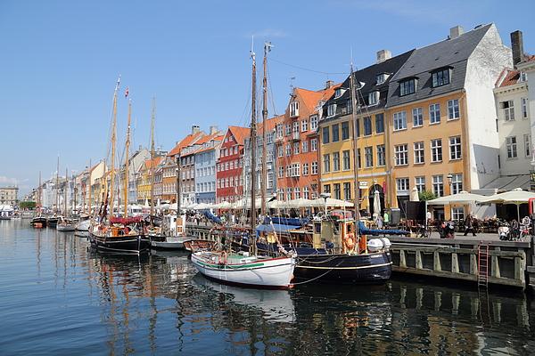 Copenhagen, Nyhavn Photograph by Pejft