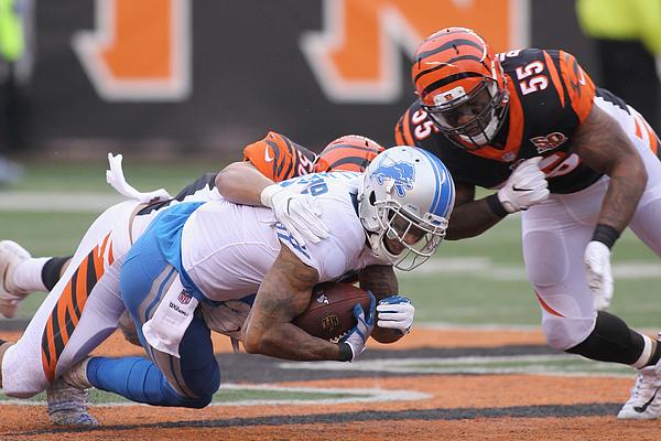 Detroit Lions v Cincinnati Bengals Photograph by John Grieshop