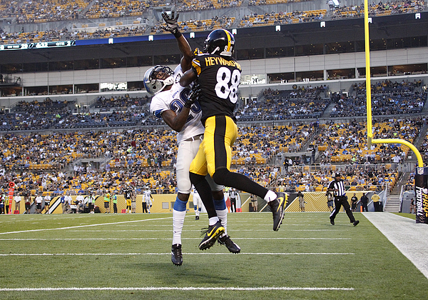 Detroit Lions v Pittsburgh Steelers Photograph by Justin K. Aller