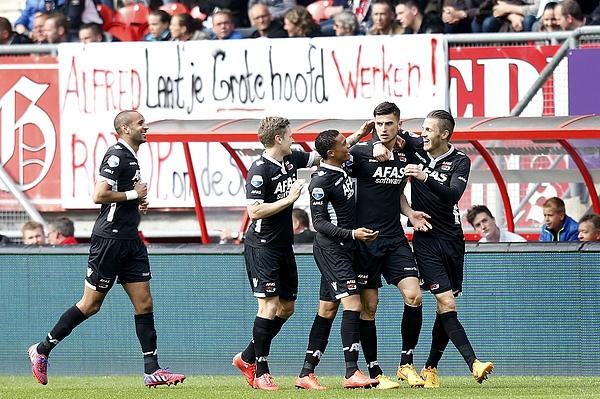 Dutch Eredivisie - FC Twente v AZ Alkmaar Photograph by VI-Images