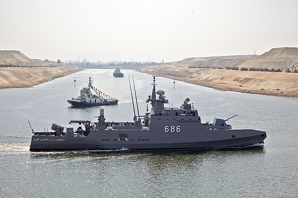 Egypts $8 Billion New Suez Canal Photograph by Bloomberg