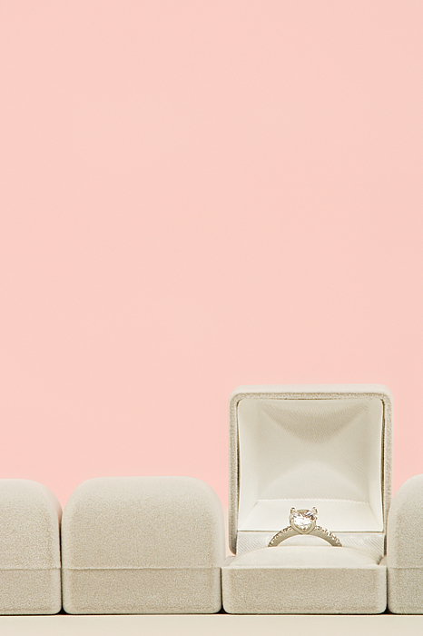 Engagement ring Photograph by Image Source