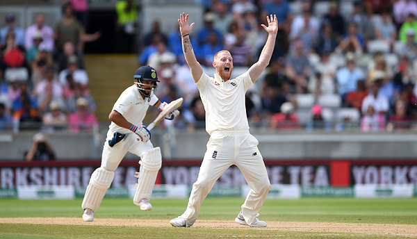 England v India: Specsavers 1st Test - Day Four Photograph by Gareth Copley