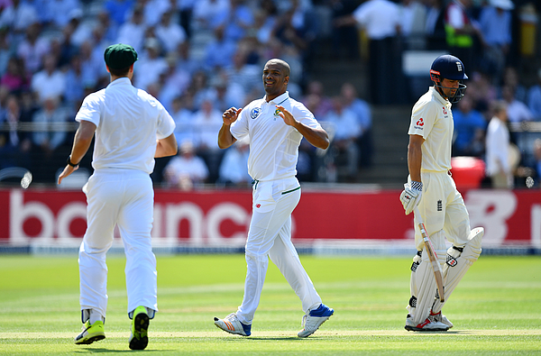 England v South Africa - 1st Investec Test: Day One Photograph by Dan Mullan